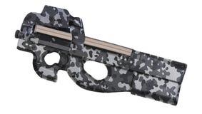 Belgium sub machine gun stock images