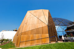 Belgium and Tibet Pavilion - Expo Milano 2015 Stock Photography