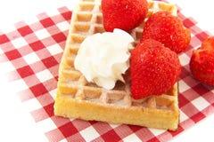 Belgium waffle Stock Image