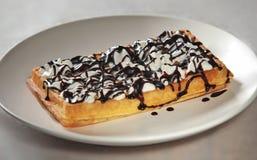 Belgium waffle 2 Stock Photo