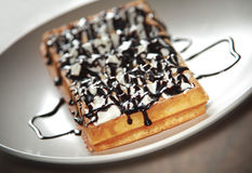 Belgium waffle 3 Stock Photos