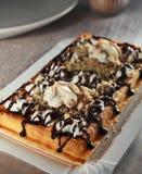 Belgium waffle 4 Stock Image