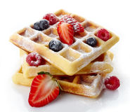 Belgium waffles Royalty Free Stock Photos