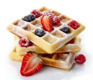 Belgium waffles Royalty Free Stock Photos
