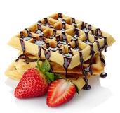 Belgium waffles Stock Photography