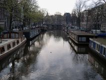 BELGIUM WATERWAY Royalty Free Stock Photography