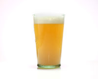 Belgium wheat beer Royalty Free Stock Image