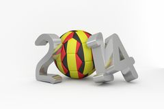 Belgium world cup 2014 Royalty Free Stock Photo