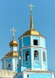 belgorod大教堂城市smolensky正统的俄国 别尔哥罗德州市,俄罗斯 库存照片
