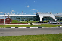 Belgorod airport Royalty Free Stock Image
