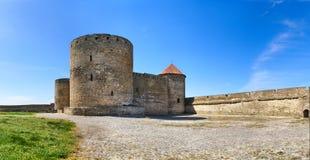 Belgorod-Dnestrov Akkerman Festung. Hof für Stockbilder
