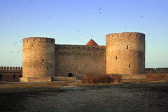 Belgorod Dnestrovskiy castle. In the morning Royalty Free Stock Images