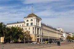 Belgorod-Hotel-Komplex Russland Stockfoto