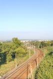 Belgorod. Railway ways Stock Photos