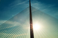 Belgrad-Brücke Stockfoto