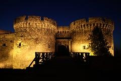 Belgrad-Festung Kalemegdan Stockfotografie