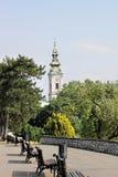 Belgrad kalemegdan Stockfoto