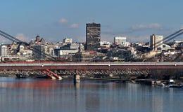 Belgrad in Serbien Stockfoto