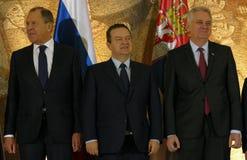Belgrad, Serbien 13. Dezember 2016: 35. Sitzung des Counci Stockbild