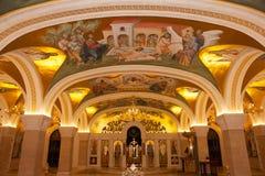 Belgrad, Serbien - 24. Oktober 2017: Der Serbe orthodox Lizenzfreie Stockfotos