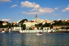 Belgrad Serbien und die Save Stockfoto