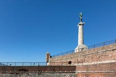 Belgrad Serbien Victor Monument Stockbild