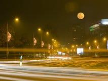Belgrad-Straße stockbilder