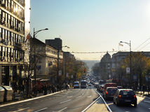 Belgrad street Stock Images
