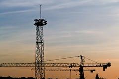 Belgrad-Werft Stockbild
