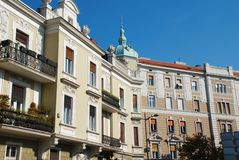 Belgrade architecture details Royalty Free Stock Image