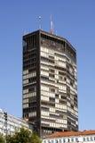 Belgrade - Beogradjanka byggnad i Kralja Milana Street royaltyfri foto