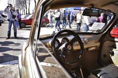 Belgrade bilshow Royaltyfri Bild
