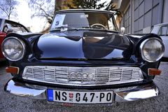 Belgrade bilshow Royaltyfri Fotografi