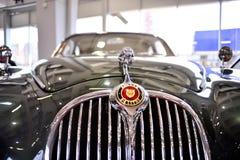 Belgrade bilshow Royaltyfri Foto