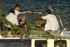 Belgrade boat carnival-5. BELGRADE - AUGUST 29: BELGRADE BOAT CARNIVAL Stock Photos
