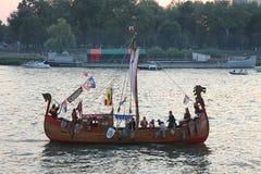 Belgrade Boat Carnival stock images