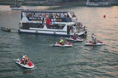 Belgrade Boat Carnival royalty free stock photos