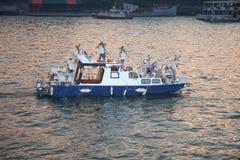 Belgrade Boat Carnival royalty free stock image