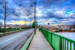 Belgrade bridge Stock Photo