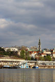 Belgrade capitol of Serbia,view from river Sava Royalty Free Stock Image