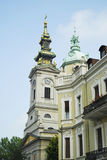 Belgrade cathedral. Beautiful architecture in Belgrade, Serbia Royalty Free Stock Image
