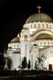 belgrade cathedral sava sveti Στοκ φωτογραφίες με δικαίωμα ελεύθερης χρήσης