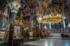 Belgrade Church of Saint Sava stock photography