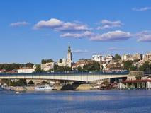 Belgrade city Royalty Free Stock Images