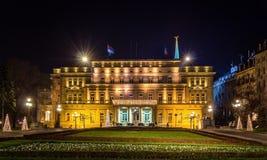 Belgrade City Hall at night Stock Images