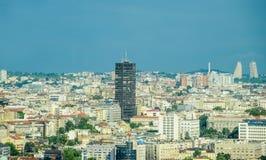 Belgrade cityscape Royaltyfri Foto