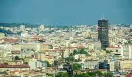 Belgrade cityscape Royaltyfri Fotografi