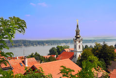 Belgrade cityscape Royalty Free Stock Photos