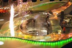 belgrade eurovision songkalkon 2008 Arkivbild