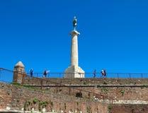 Belgrade fästning arkivfoto